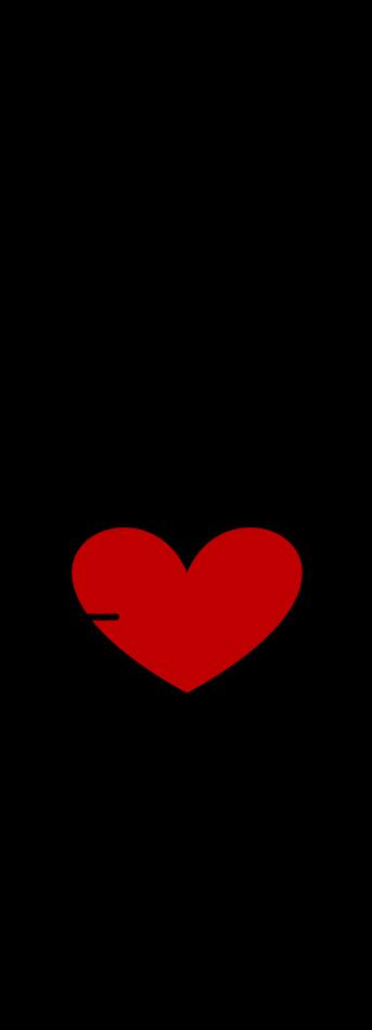 poppetje met hart